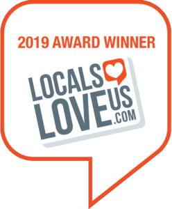 2019 Award Winner Logo from Locals Love Us