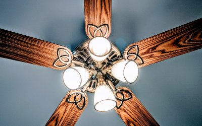 A Ceiling Fan Trick to Save on Energy Costs this Summer